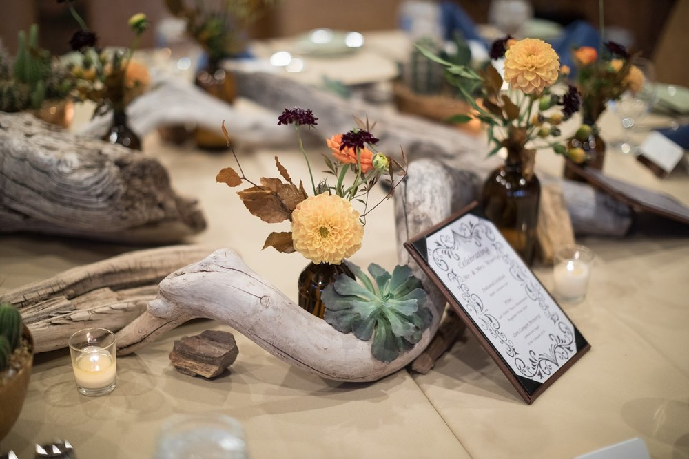 desert inspired centerpiece