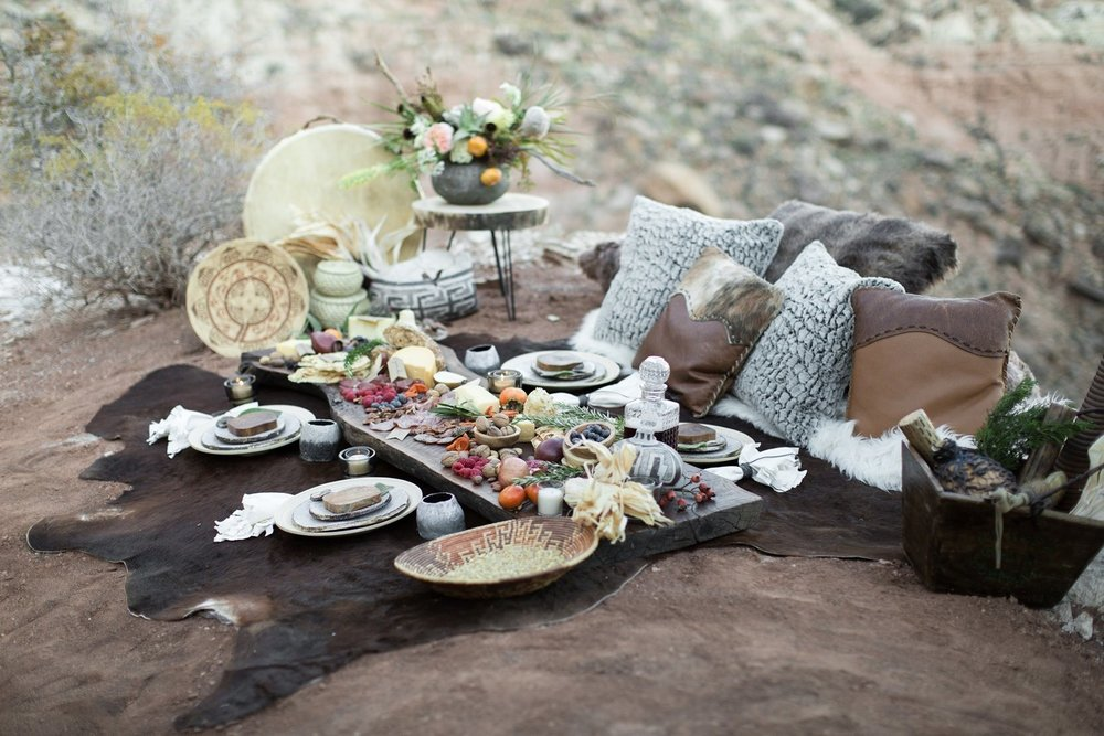zion inspired wedding lounge