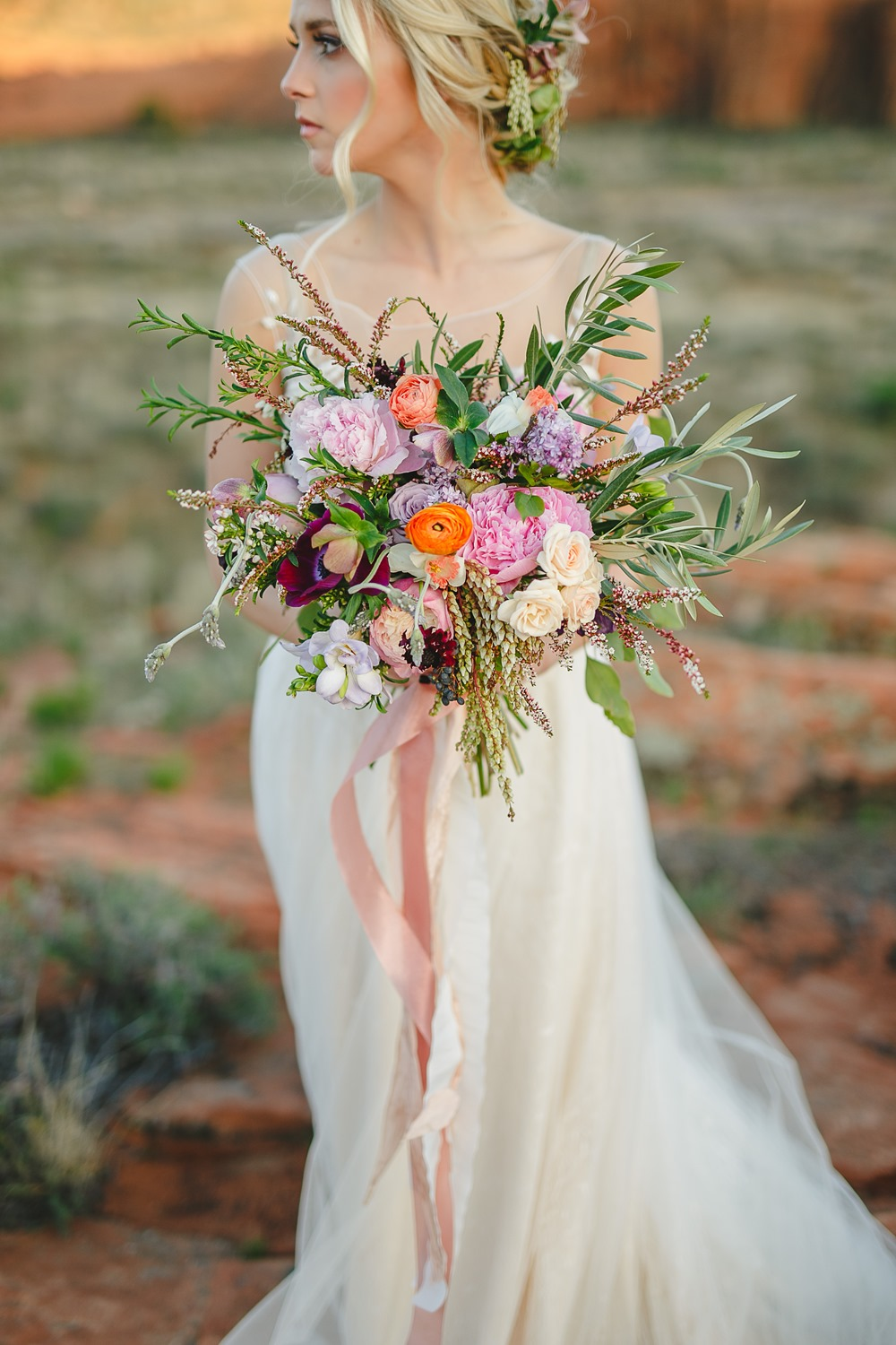 bridal bouquet by bloomers