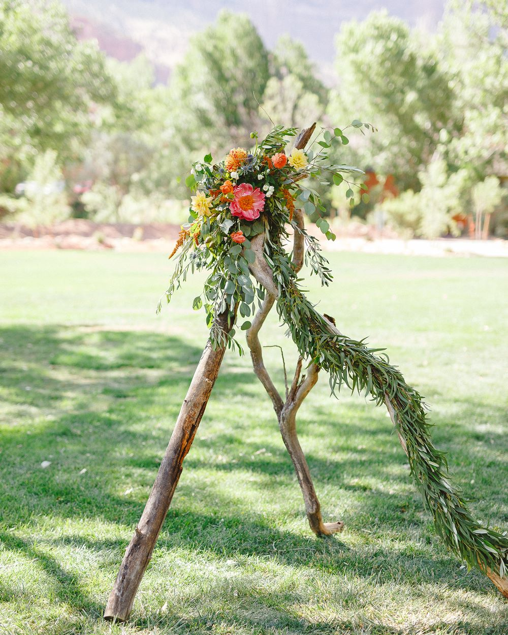 boho teepee backdrop