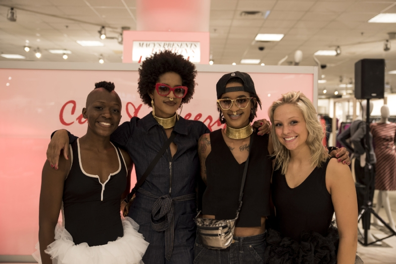 A fresh, fun and edgy fashion affair! Thank you Macy's for inviting SHAPESHIFT to perform at 'Fashion's Front Row'. Shout-out to DJ's, CoCo & Breezy for the beats. September 27th, 2016