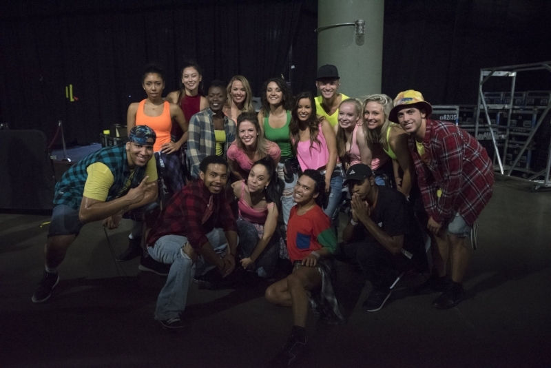 SHAPESHIFT backstage at WeDay MN Tour Stop 2016! Thank you Paula Abdul for your dance challenge/mentorship. Shout-out to national recording artist, OMI for having SHAPESHIFT take the stage with you. Until next time. September 20th, 2016