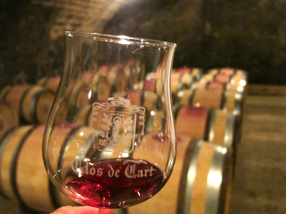 Wine Tasting at Clos de Tart