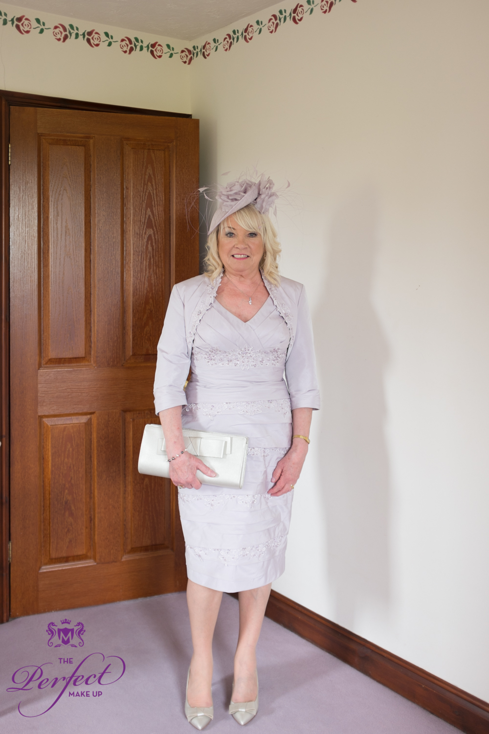 Gleny's Mother of the bride looking lovely.