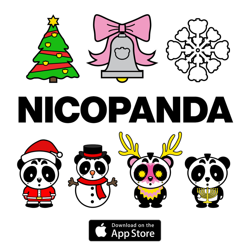 NICOPANDA Holiday Stickapax Update