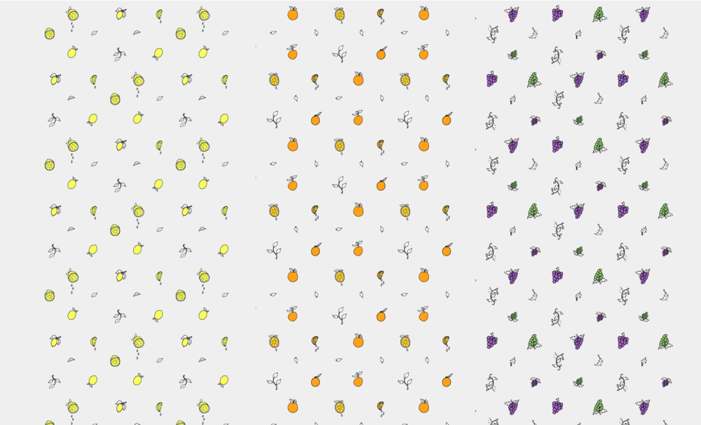 Fruit Pattern Illustrations