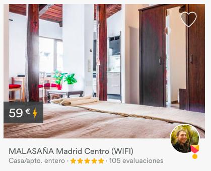 Airbnb Madrid 3