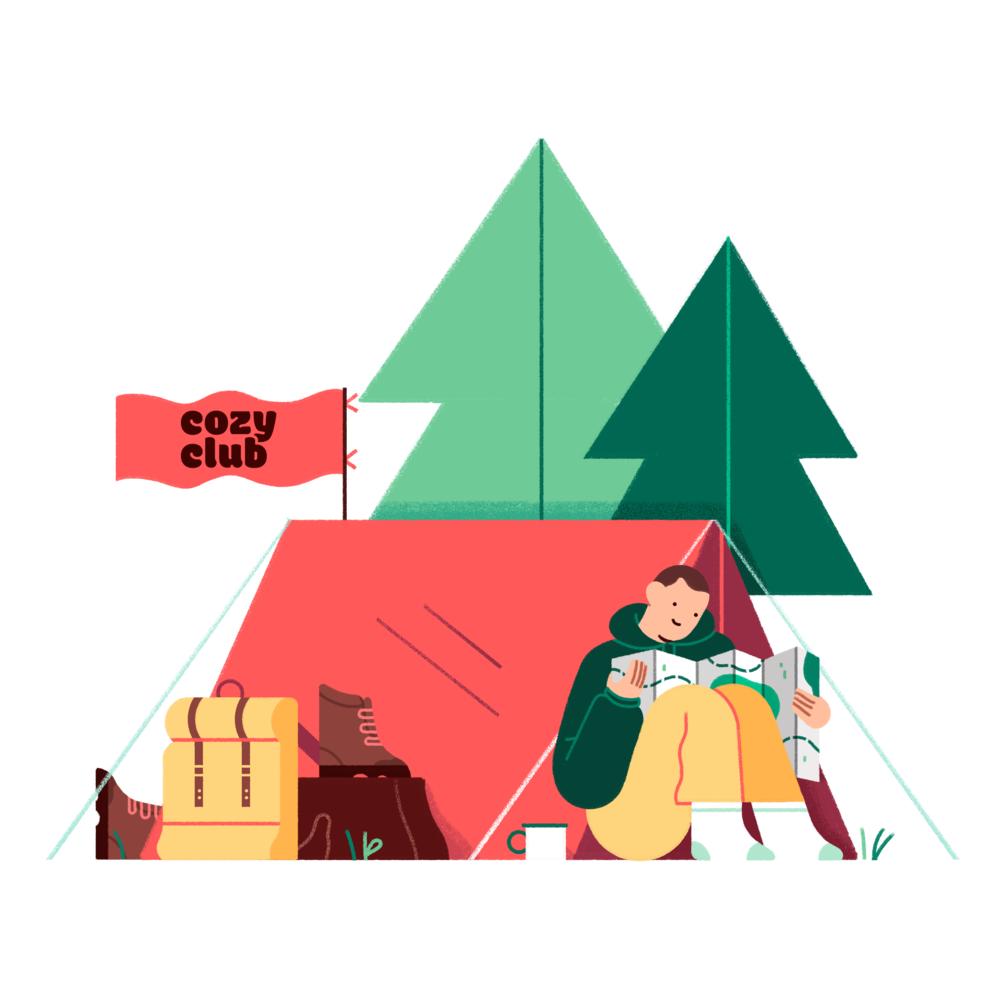 Megan Pelto _ Cozy Club _ Tent _ Camper _ 01.png