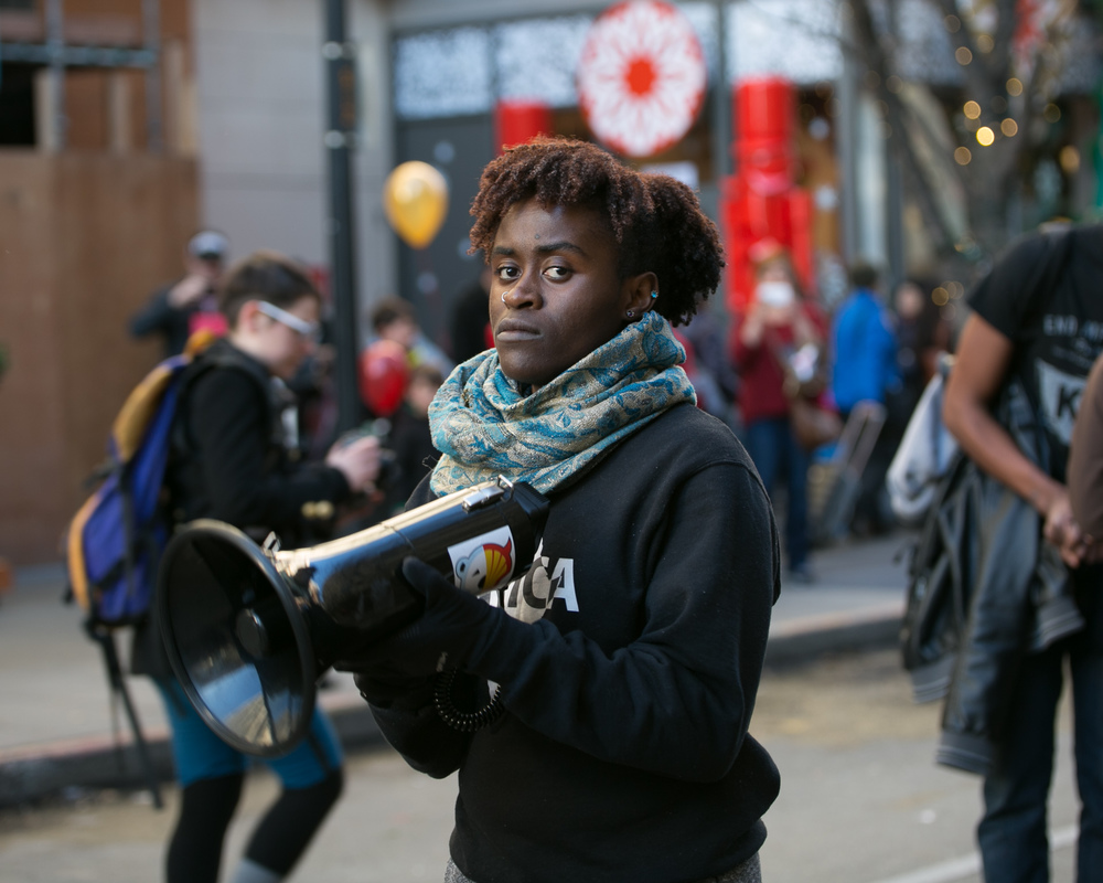 Black Lives Matter protest, Seattle 2015