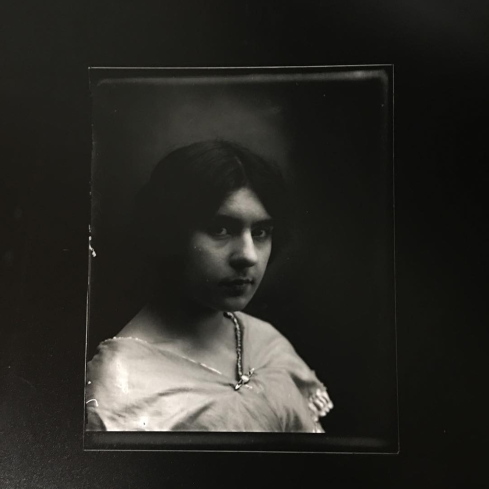 While working at CameraTechs Inc, a customer gave me his family's glass plate negatives from 1917. This week I made prints in the darkroom while teaching a class for young photographers!