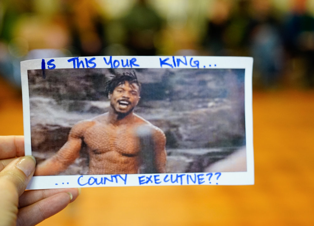 Seattle's No Youth Jail activists create political memes to send to King Country Executive Dow Constantine