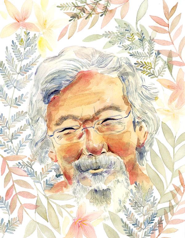 David Suzuki -Megaphone Magazine