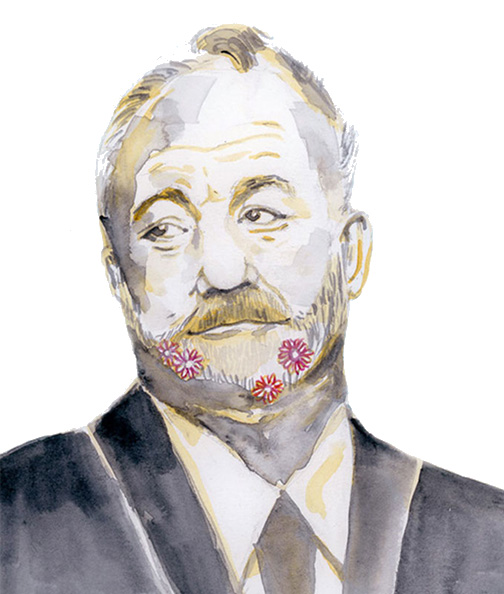 Bill Murray Watercolour