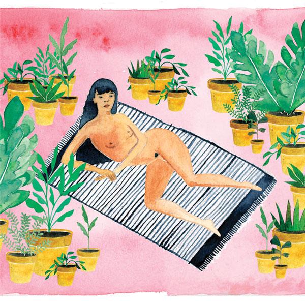 Cleopatra Watercolour