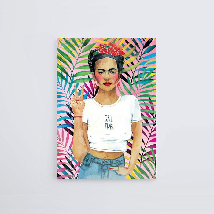 4a03c3b68be Frida Kahlo - GRL PWR — Jo Lee