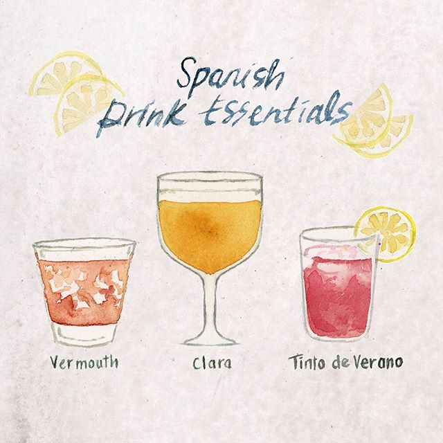 My Spanish Drink List