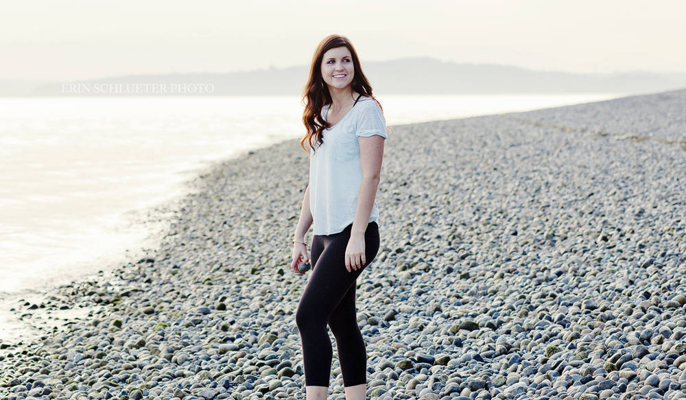 Jena loves skipping rocks, so me made sure to incorporate that into her lifestyle photo session.