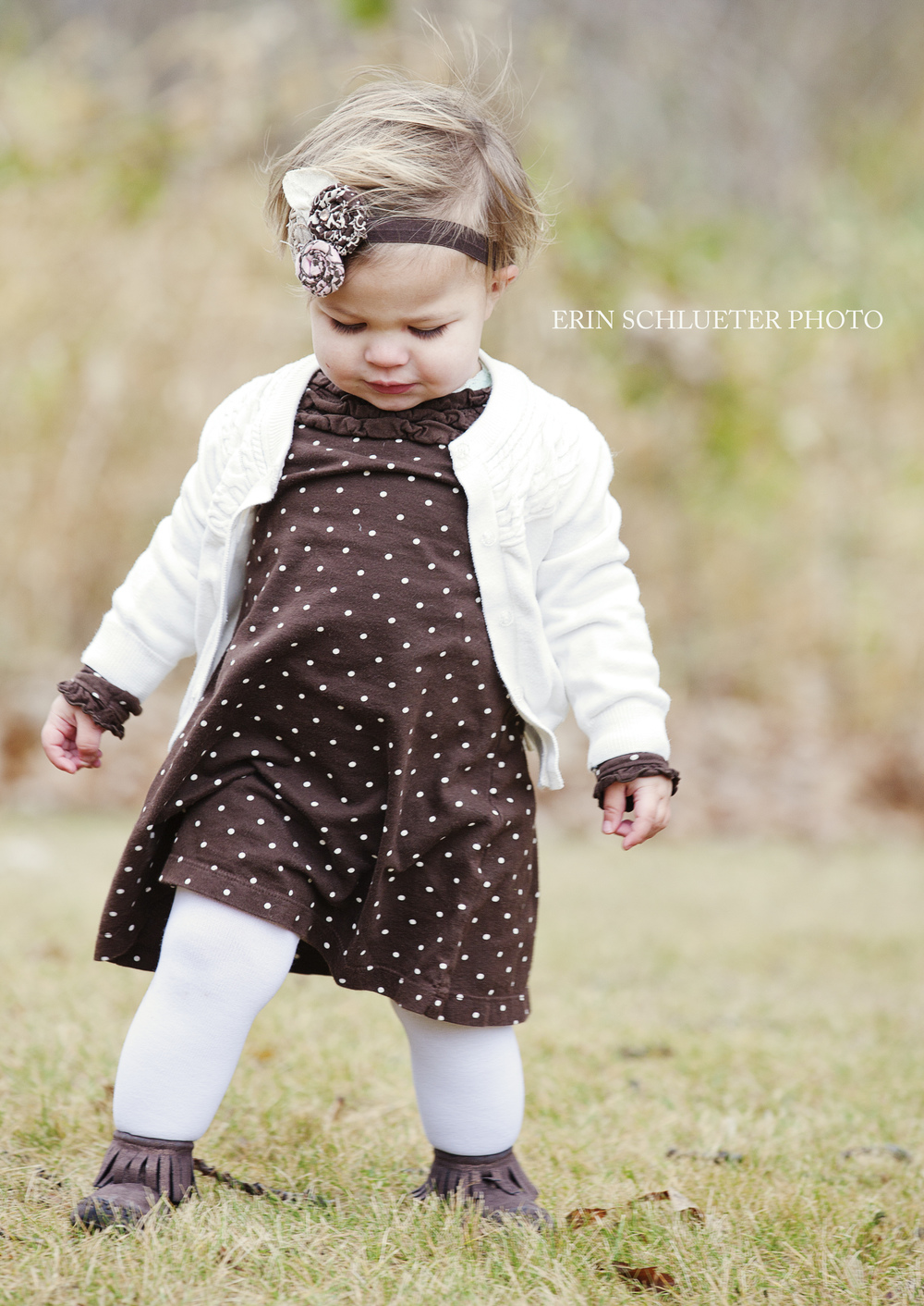 McClane was such a sweetheart during our Minnesota Photo Session. How cute is her outfit?