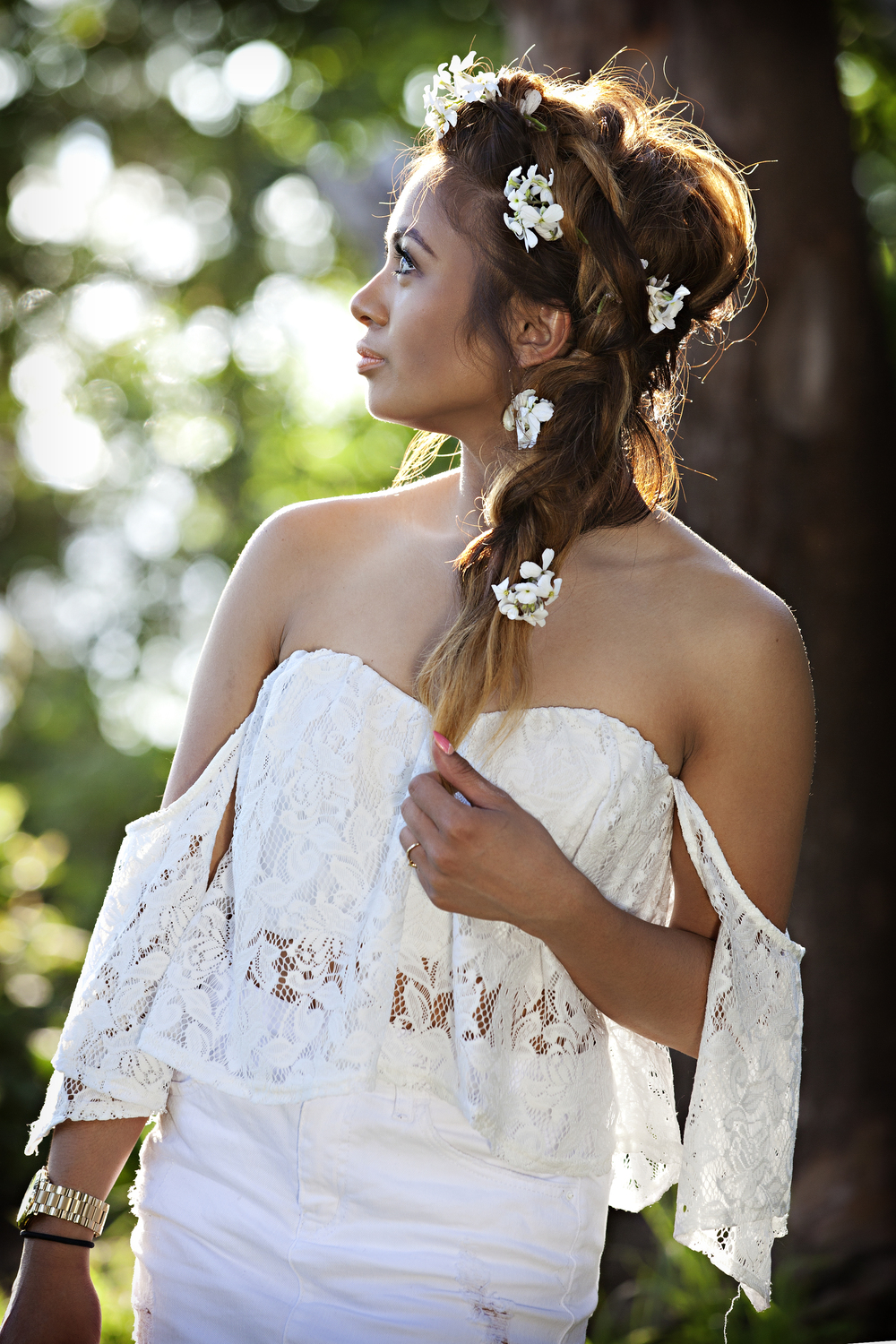 Love this gorgeous boho braid? Be sure to follow Geraldine @styleclassedge for beauty tips