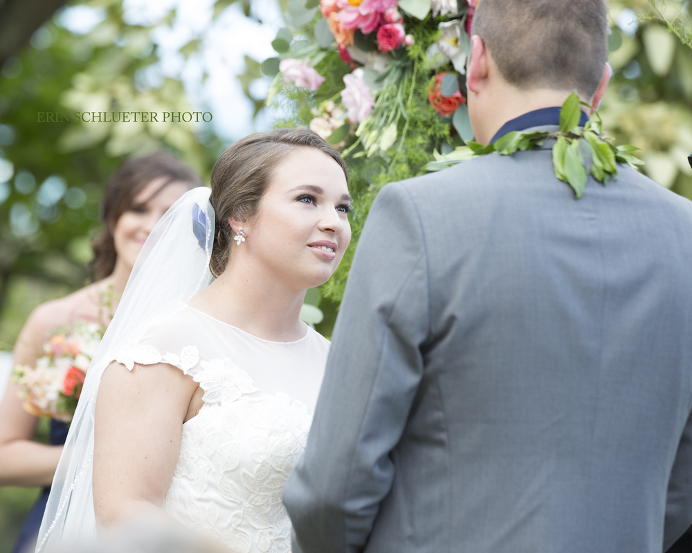 Wedding vows are one of my favorite parts of the wedding day - I love the way these two are looking at each other. The bride and groom are absolutely perfect for each other, and I am honored that I was able to document their day.