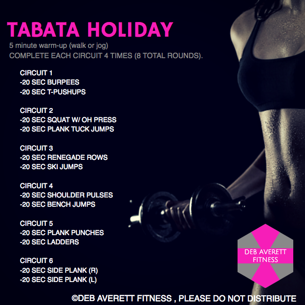 tabata at home workout