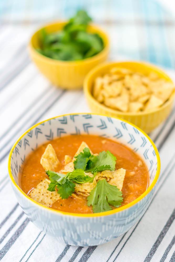 Recipes Chicken Tortilla Soup Coreen Murphy