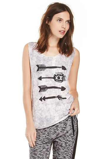 Maison Scotch 2-in-1 Festival Tank Top in Gray