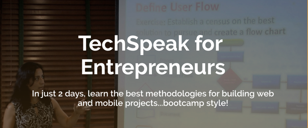 Tech Speak for Entrepreneurs