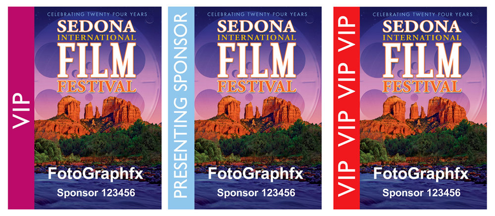 Sedona Film Festival ProgramsFilm Festival Pass Designs