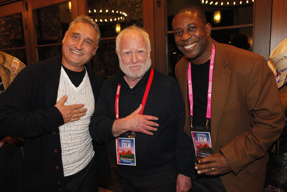 Richard Dreyfuss and Festival Attenees