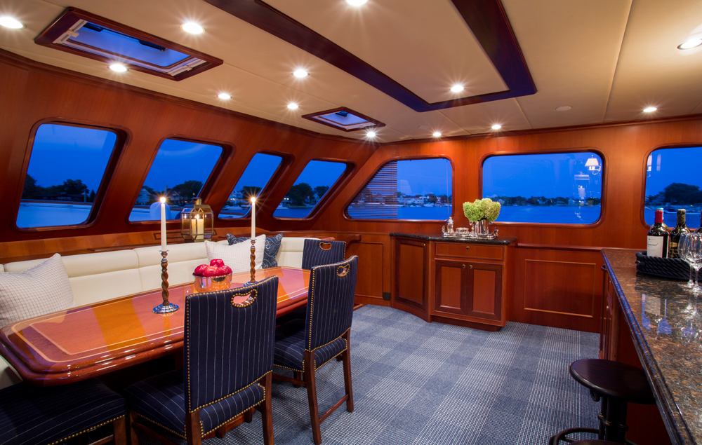 Nord Fjord Charter Boat Diana Sawicki Interior Design Connecticut Fairfield County Top