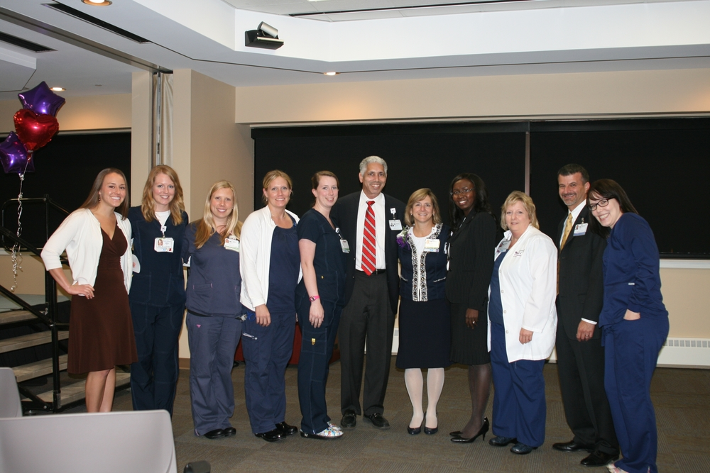 ED Staff w Dr Smith and Polly Roush Director of Nursing.jpg