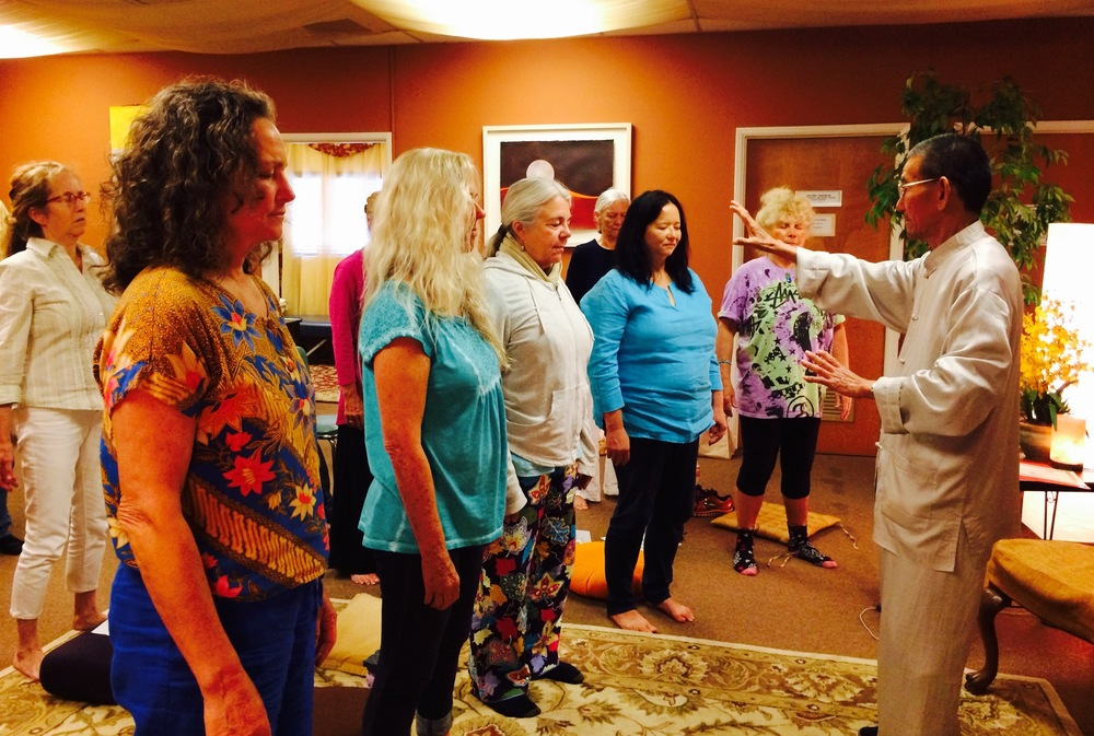 Group energy Healing by Master Weiye Wang