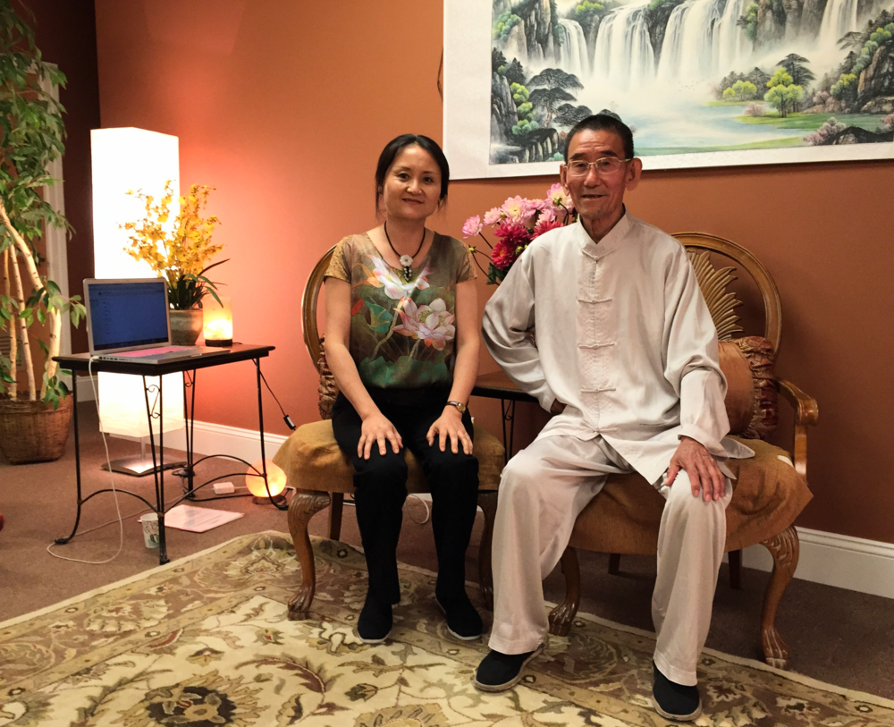 Master Weiye Wang (father) at 82 and Chiyan Wang (daughter) just finished leading an advanced workshop on June 27, 2015