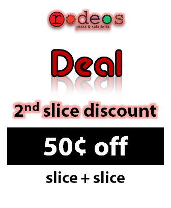 2nd Slice Discount