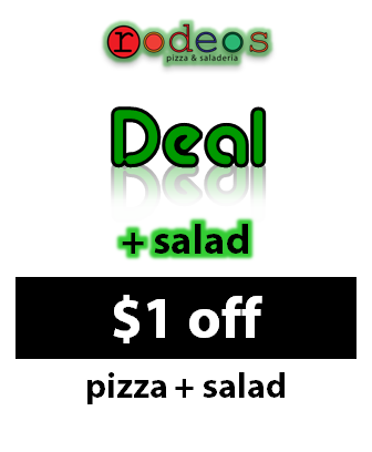 Add a salad discount