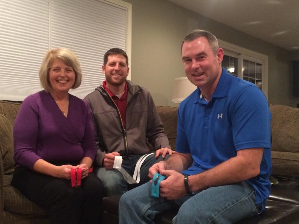 Nancy, Scott, and Dave
