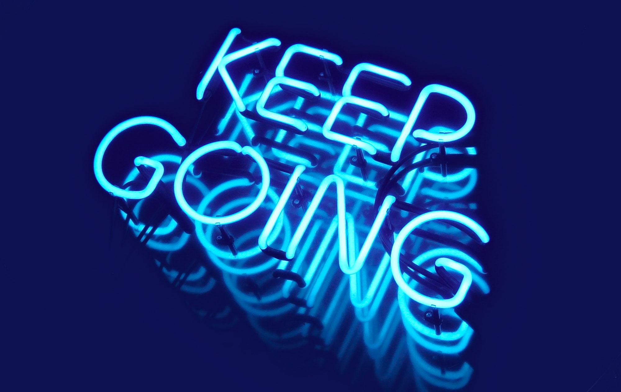0de19c460a296 Keep Going — Pamela Rounis