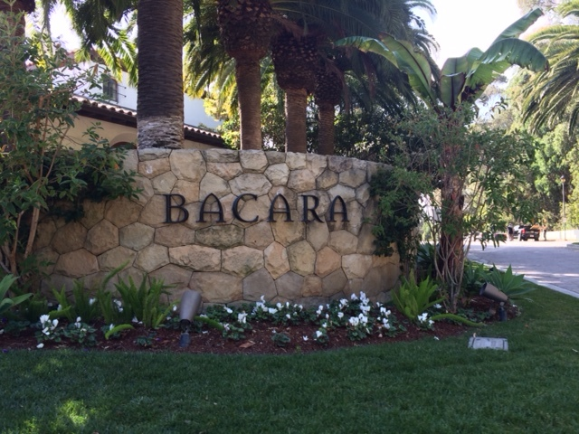 Entertaining at an corporate incentive weekend in Santa Barbara