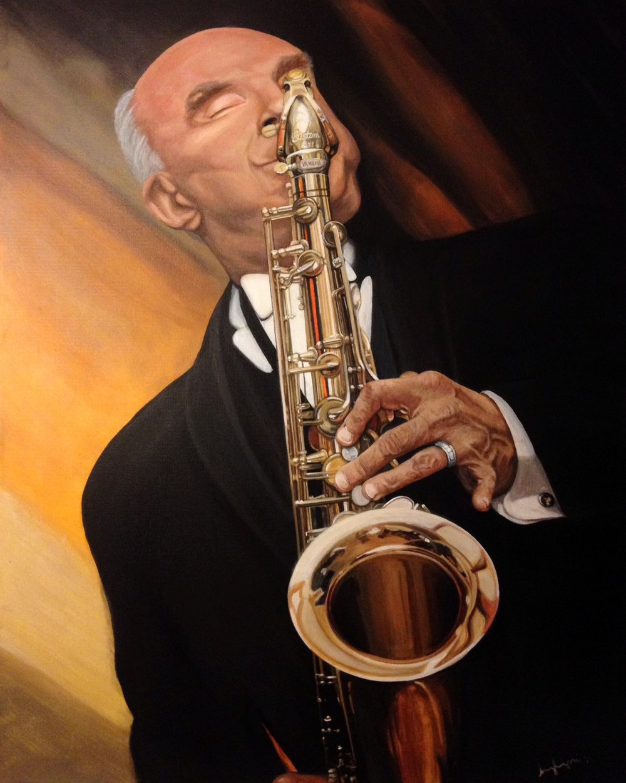 """Bill Jech- Saxophonist"""