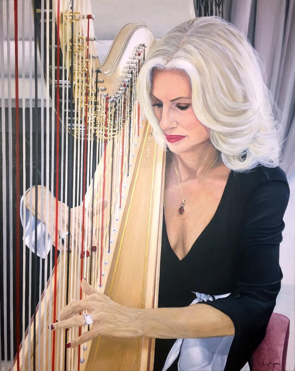 """""""DeAnn Cary- Harpist"""""""