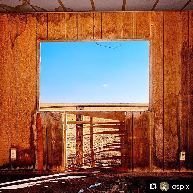 "#Repost @ospix (@get_repost) ・・・ SEE YOU TOMORROW EVENING at the -Scapes exhibition curate by @hayleymariecolston closing 6-11pm at @unita.club in El Segundo, CA. I 'll be there from about 7-10pm. Among the many photographs on view, my ""Window with Wire & Tiny Cloud - Cinco, CA,"" never before exhibited in the Los Angeles area. . #ospix #colorphotography #artexhibition #laartscene #losangelesart #symmetry #californiadesert #mojavedesert #viewscape #California #LosAngeles #USA www.ospix.com"