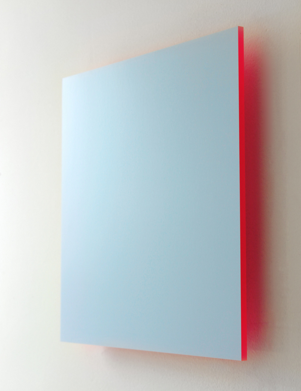 Blue Sky, Pink Light Digital C-Print mounted on Pink Plexi 2013