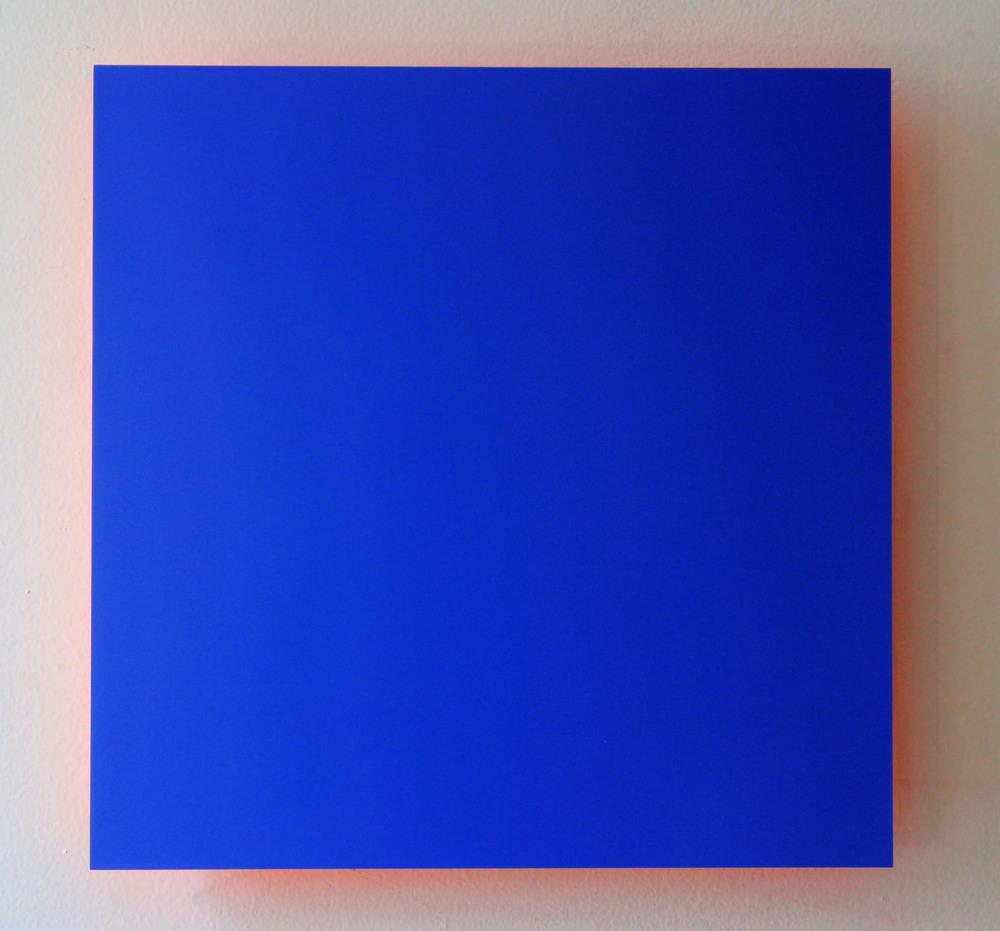 Blue Sky, Orange Light Digital C-Print mounted on Orange Plexi 2013