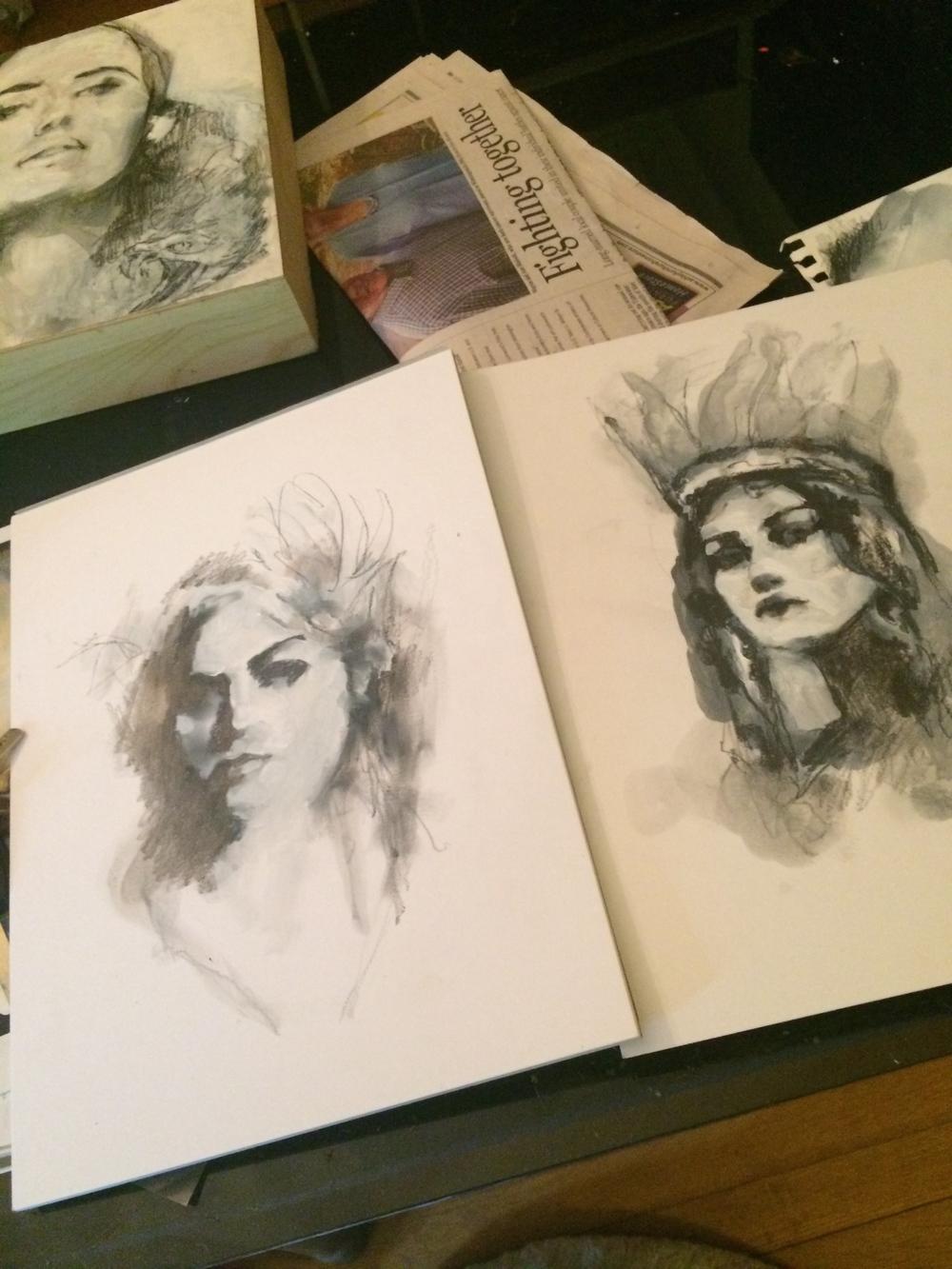 Left: Adrienne, Libra