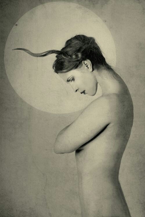 Image: Moonlight Girl by Marta Orlowska