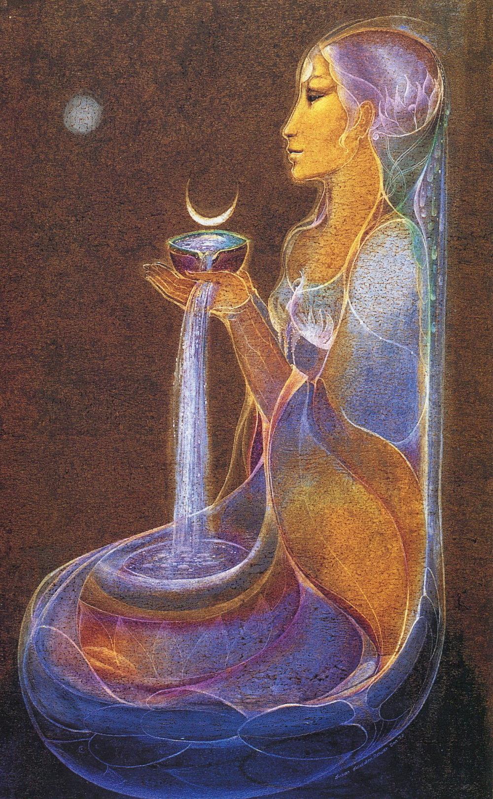 "Artwork: Susan Seddon Boulet ""Moon Cup"""