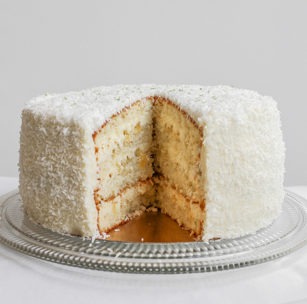 Coconut Pineapple Cake  9"
