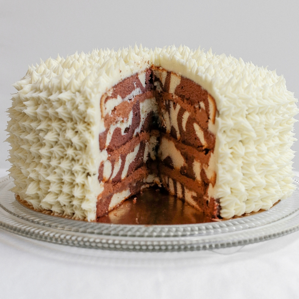 Marbled Cake  9"