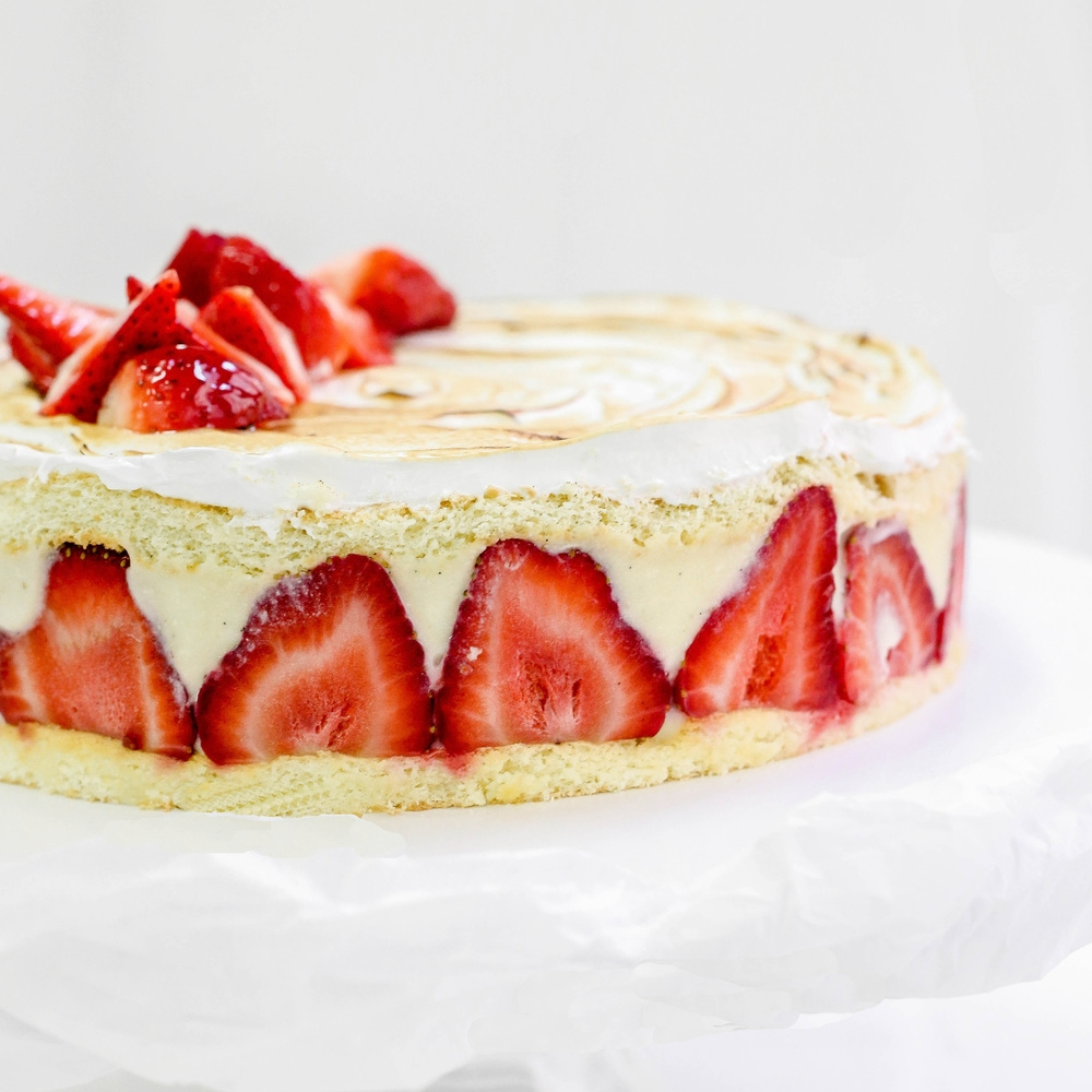 Fraisier Cake  9"